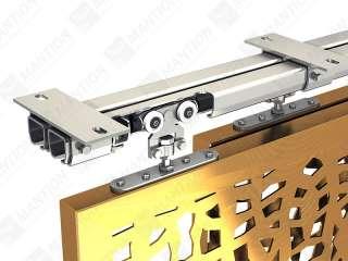 STH-INOX-120 - Système pour volets coulissants WIN-STH Rail Inox A2 (304L) 200 kg