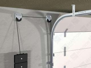 7000-30-KG - Portes sectionnelles industrielles légères (30 Kg / panneau)